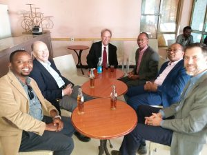 With Partners after a supervision visit – Hawassa town 2018