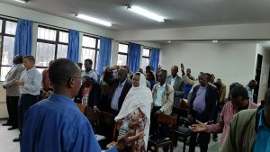 A prayer training with International College of Prayer – Addis Ababa 2019