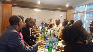 Some fellowship time – Addis Ababa, 2018